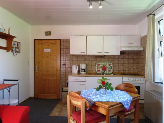 Küchenzeile im Wohnzimmer im Ferienhaus